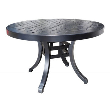 "Hampton Dining Table by Cabana Coast - 48"" Round Table - Foster"