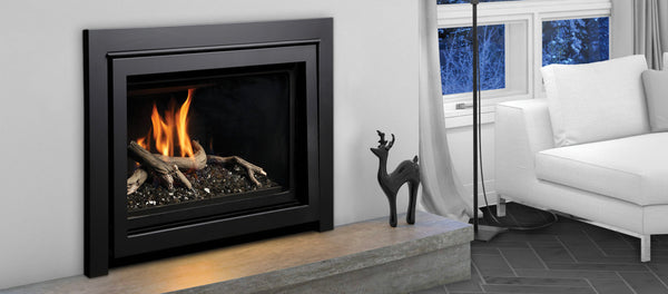 Marquis Capri Gas Fireplace with four-sided trim
