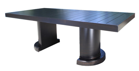 "Lakeview 120"" Dining Table By Cabana Coast Dark Rum"