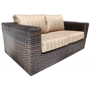 Louvre Deep Seat Loveseat by Cabana Coast