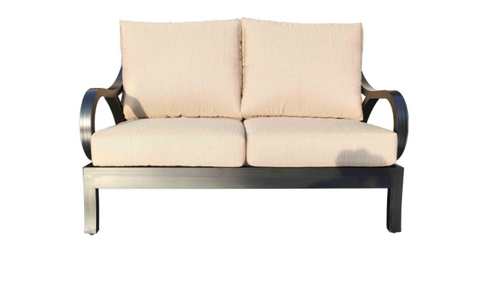Milano Deep Seat Loveseat by Cabana Coast