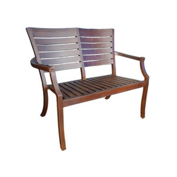 Mission Dining  Loveseat Bench by Cabana Coast