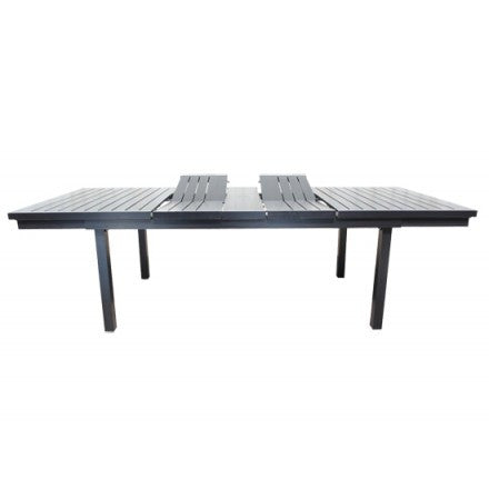 "Cabana Coast 72-102"" Rectangle Extension Dining Table - Dark Rum"