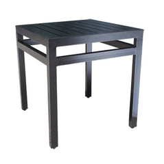 "Monaco Accent Table by Cabana Coast - 21"" Square Side Table"
