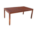"Monaco Accent Table by Cabana Coast - 41"" Rectangular Coffee Table - Dark Rum"