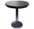 "Monaco Bar Table by Cabana Coast - 56"" Round Pedestal Table - Dark Rum"