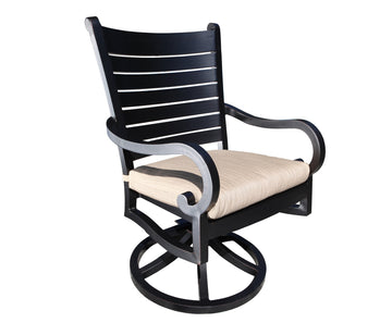 Monaco Dining Swivel Rocker by Cabana Coast
