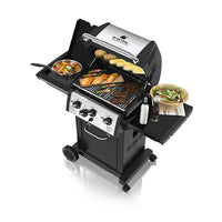 Broil King Monarch Gas Grill with side Burner