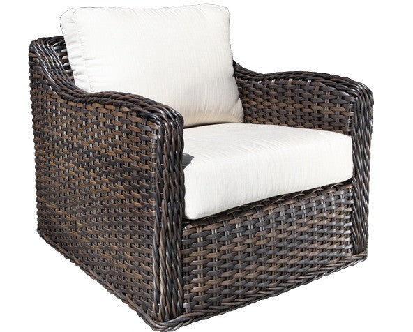 Cabana Coast Nevada Deep Seat Lounge Chair - Espresso