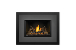 Napoleon Gas Fireplace Insert - Oakville 3 with Large 4-Sided Backerplate