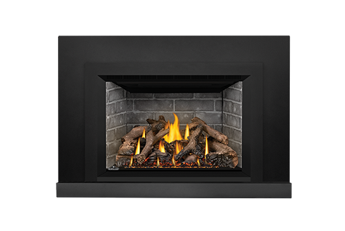 Napoleon Gas Fireplace Insert - Oakville X4 with Westminster Bricks