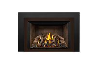 Napoleon Gas Fireplace Insert - Oakville X4 with Newport Bricks
