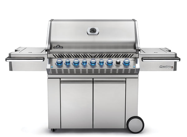 Napoleon Prestige Pro 665 With Rear and Side Infrared Burner - Gas Grill