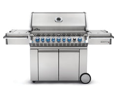 Napoleon Prestige Pro PRO665RSIB_SS-2  Gas Grill with Rear and Side Infrared Burner Stainless Steel Doors and Lid