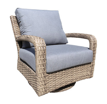 Pacific Deep Seat Swivel Glider Chair by Cabana Coast