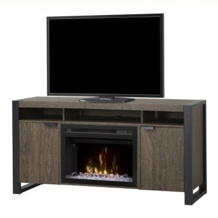 Pierre Media Console Electric Fireplace
