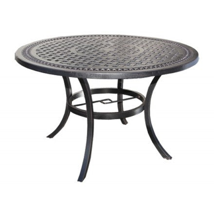 "Pure Dining Table by Cabana Coast - 42""  Round Bar Table - Black"