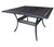 "Pure Dining Table by Cabana Coast -  60"" x 36"" Rectangular Dining Table - Black"