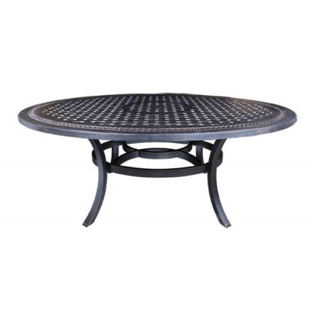 "Pure Dining Table by Cabana Coast - 80"" Egg Dining Table - Black"