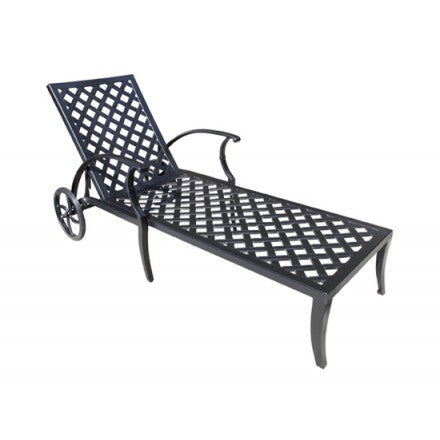 Pure Cast Aluminum Chaise Lounge