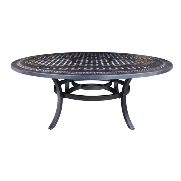 "Cabana Coast Pure 80"" x 60"" Egg Dining Table - Foster"
