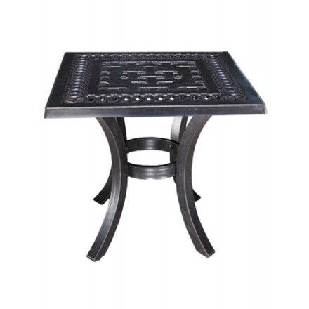 "Cabana Coast 21"" Square Side Table - Foster"