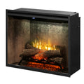 "Revillusion  30"" Weathered Concrete Firebox - Dimplex Electric Fireplace"