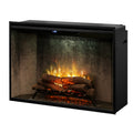 "Revillusion  42"" Weathered Concrete Firebox - Dimplex Electric Fireplace"