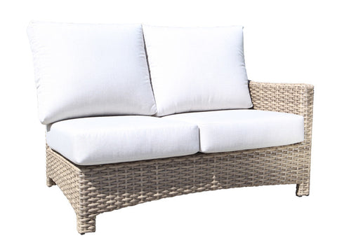 Copy of Riverside Sectional Right Module by Cabana Coast - Drift Teak Flat