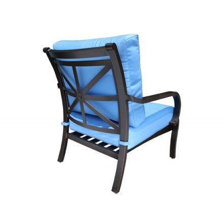 Cabana Coast Rosedale Deep Seat Lounge Chair - Foster