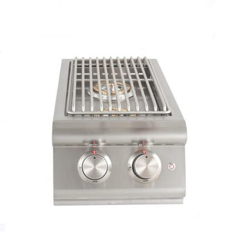 BLAZE BUILT-IN LTE DOUBLE SIDE BURNER WITH LIGHTS  BLZ-SB2LTE-(LP/NG)