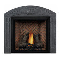 Napoleon Direct Vent Fireplace - HDX53 STARfire 52 - Arched Decorative Surround Wrought Iron Finish