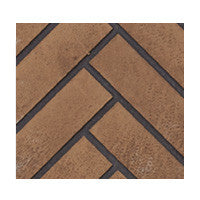 Napoleon Direct Vent Fireplace - HDX53 STARfire 52 - Decorative Brick Panels Herringbone