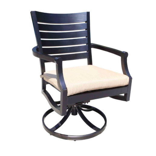 Mission Dining Swivel Rocker by Cabana Coast