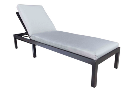 Oasis Cast Aluminum Chaise Lounge