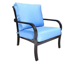 Rosedale Deep Seat Lounge Chair by Cabana Coast