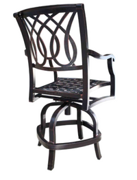 Bloom Counter Stool by Cabana Coast. Counter Height Patio Set