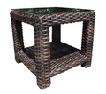"Louvre Square 24"" Side Table by Cabana Coast"