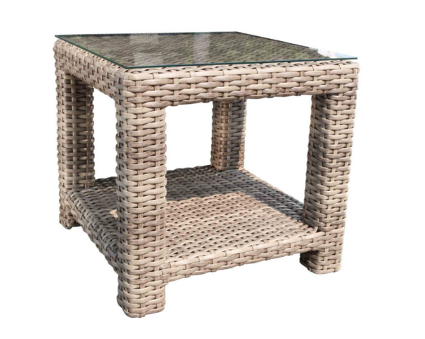 "Louvre Square 24"" Side Table"