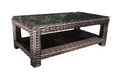 "Louvre Rectangular 48"" Coffee Table by Cabana Coast"