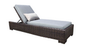 Louvre Wicker Chaise Lounge by Cabana Coast