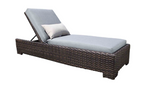 Louvre Outdoor Wicker Chaise Lounge