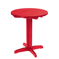 "TT03/TB13 32"" Round Pub Table with Pedestal"