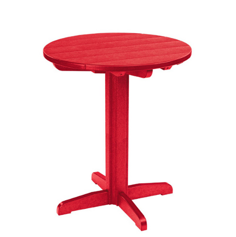 "TT01/TB13 32"" Round Pub Table with Pedestal"