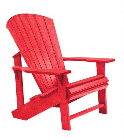 Recycled Plastic C01 Adirondack Chair