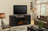 Aiden Media Console Electric Fireplace