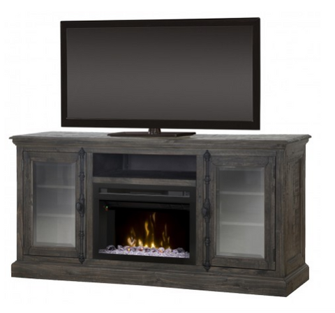 Ashton Media Console Electric Fireplace