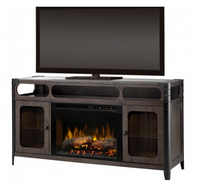 Paige Media Console Electric Fireplace