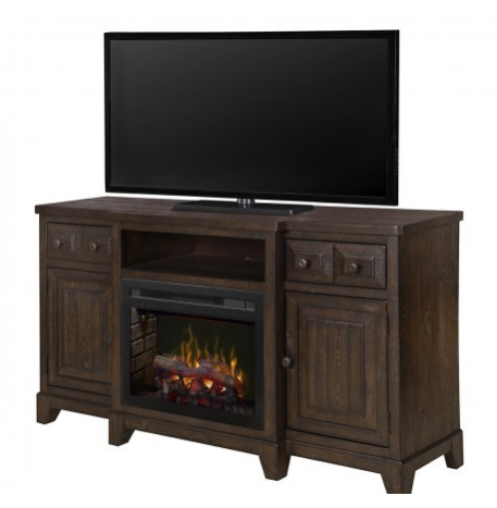 Heinrich Media Console Electric Fireplace