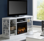 Charlotte Media Console Electric Fireplace